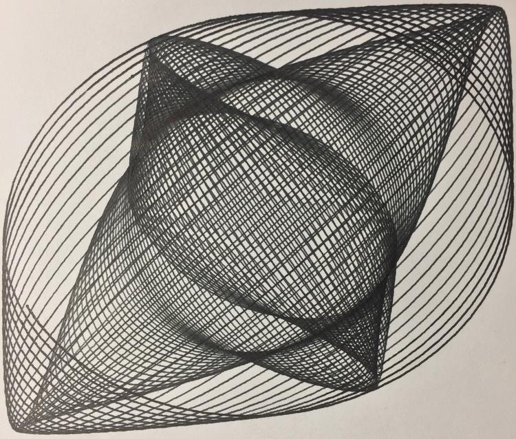 interesting moire pattern (reup - ren0h | ello