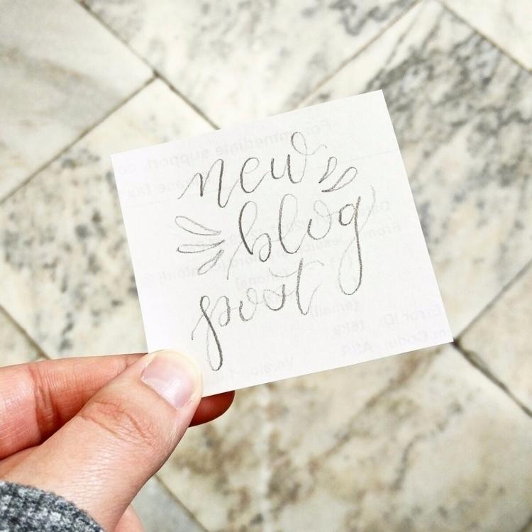 Hey started blog! check minutes - vanillabeanwrites | ello