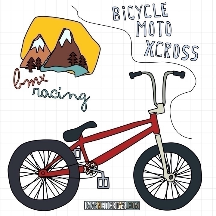 BicycleMotoXcross ⛰:bicyclist:‍ - magneticboys | ello