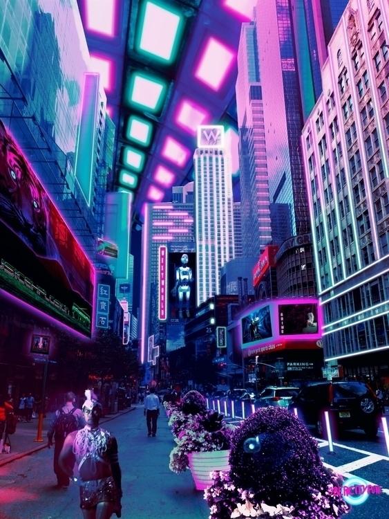Everyday Cye walked workplace t - cybercitypunk | ello