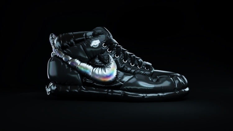nike, air, inflate, shoe, dunk - christripes | ello