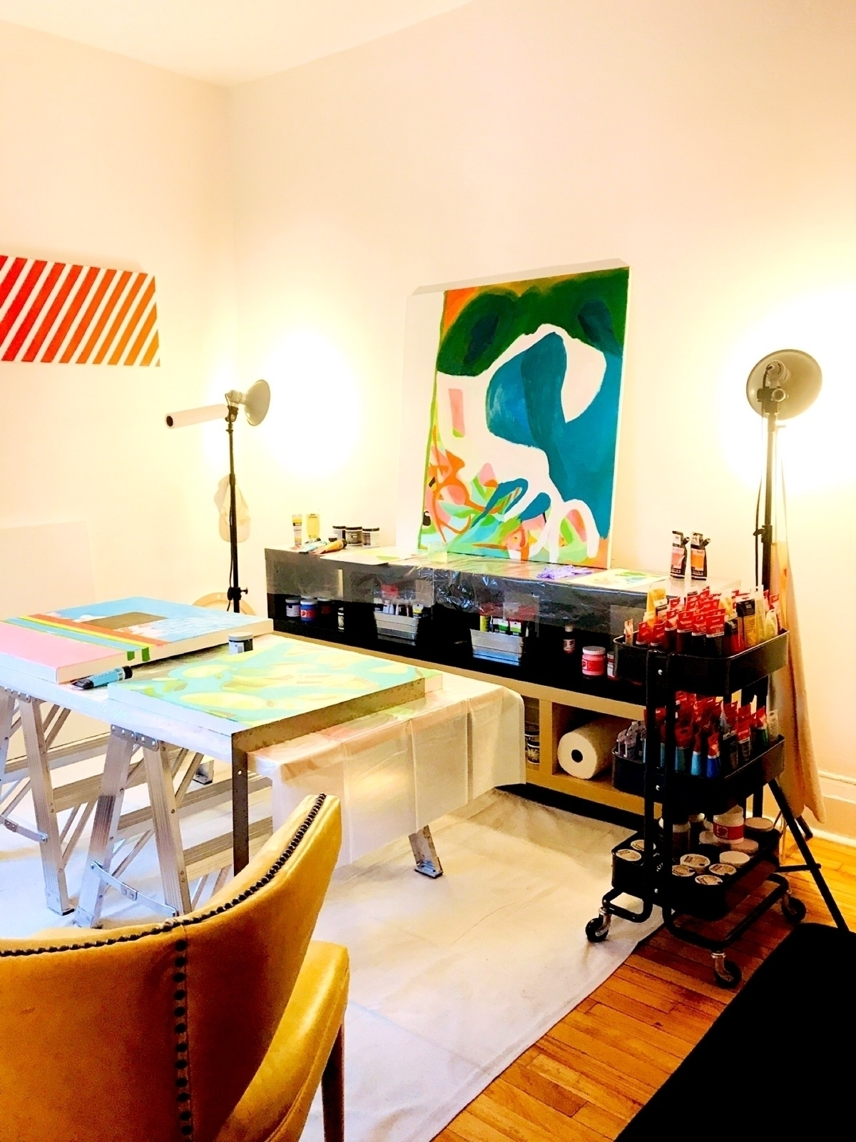 _Pretty colors studio view_ Par - cgwarex | ello