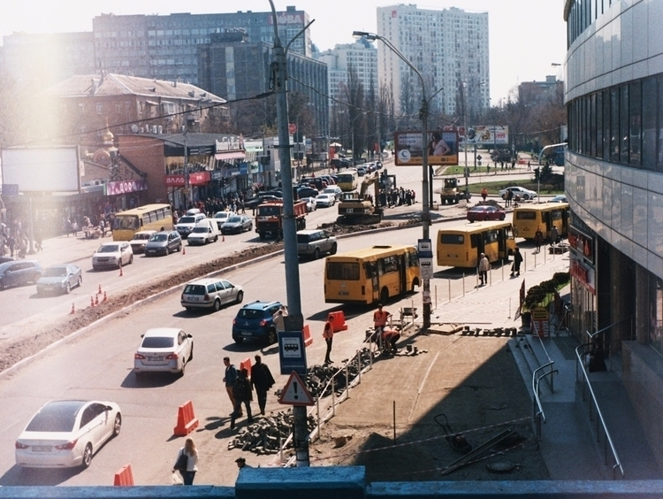 Kyiv street Yashica MG-1 FujiCo - alinele13 | ello