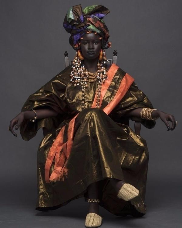 Khoudia Diop, Senegalese model  - blackartmatters | ello