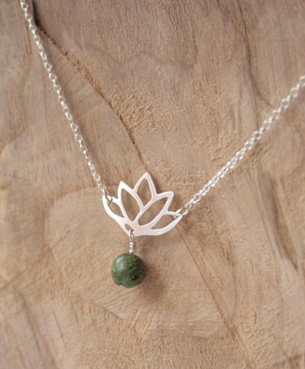 lotus necklace etsy shop - nomudnolotus - stacyccarmichael | ello