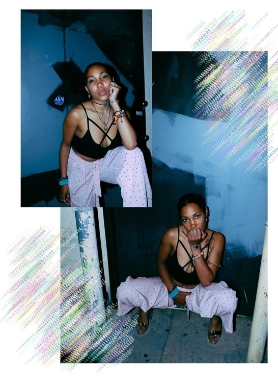 Jelani Babe captured + edited N - nigadorean | ello