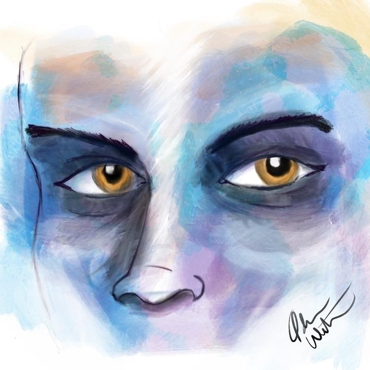 art, digitalart, watercolor, digitialwatercolor - adamwebster   ello
