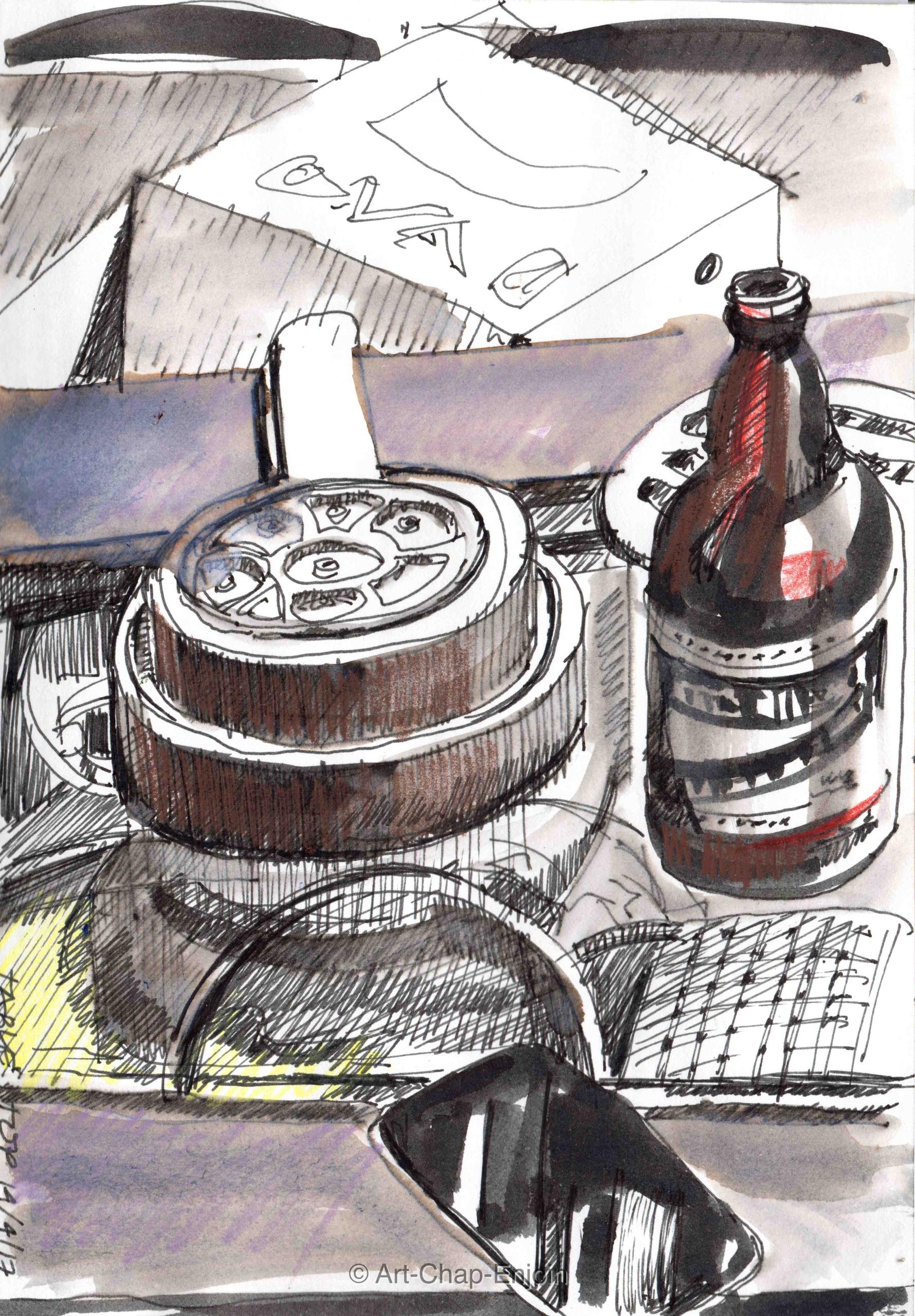 - Table top nights sketch lot w - artchapenjoin | ello