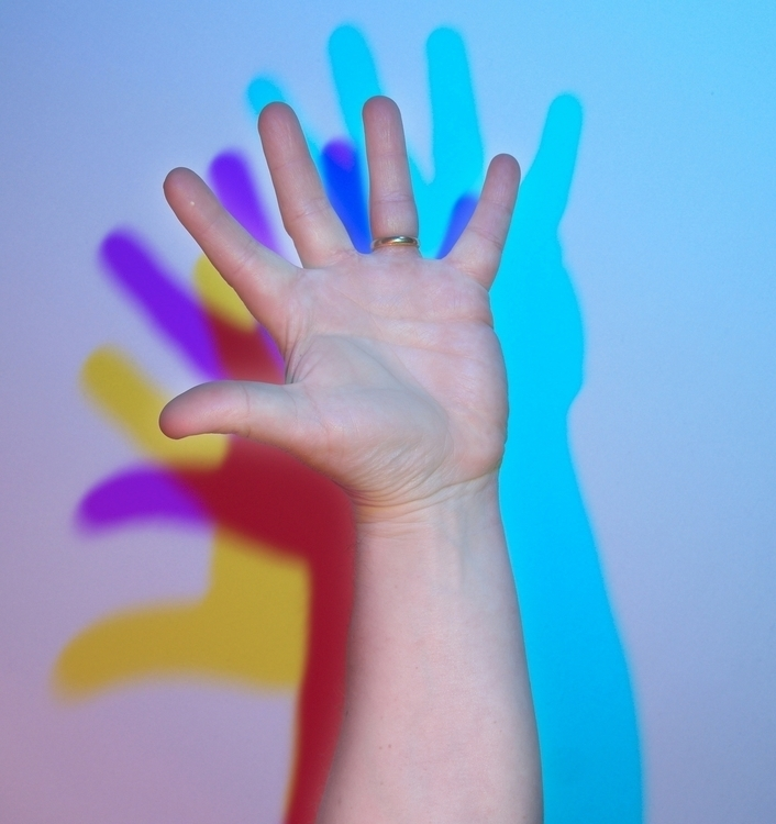 hand white - binome | ello