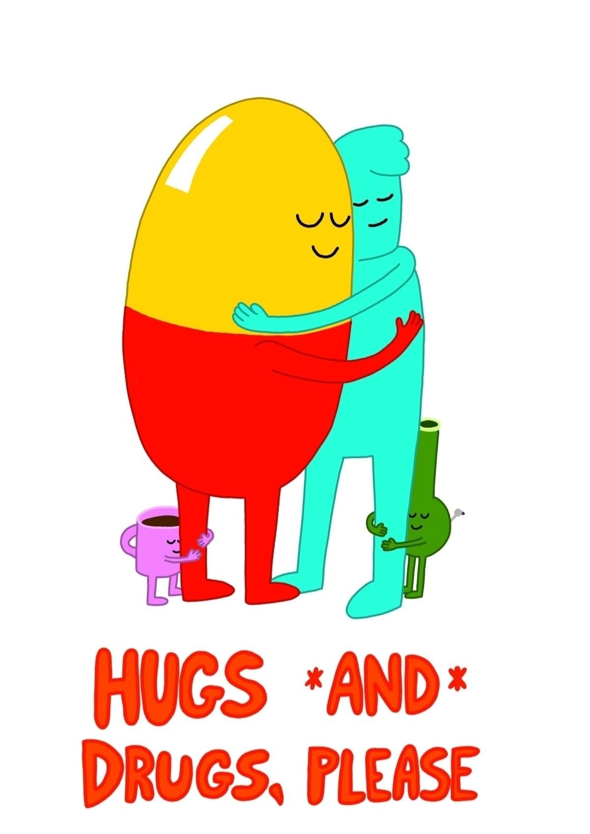 Hugs drugs, design products Zaz - granolafication   ello