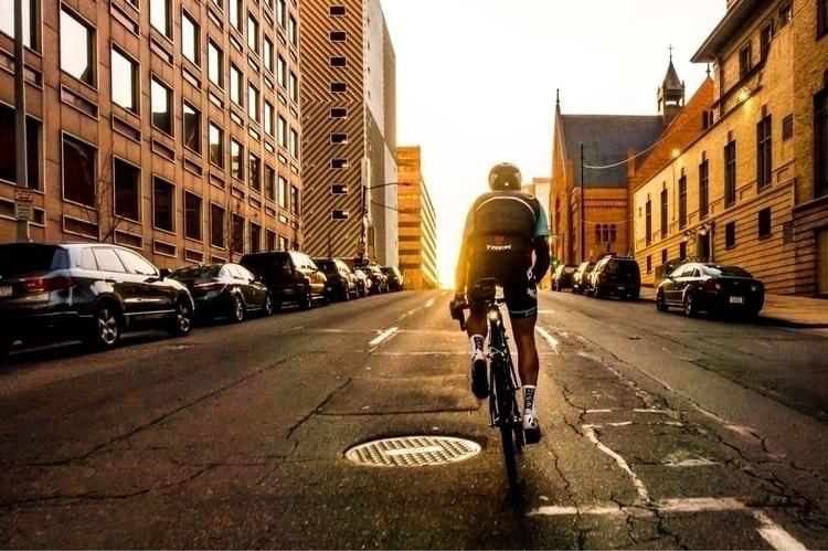 Early mornings Denver - ellocycling - galen1973 | ello