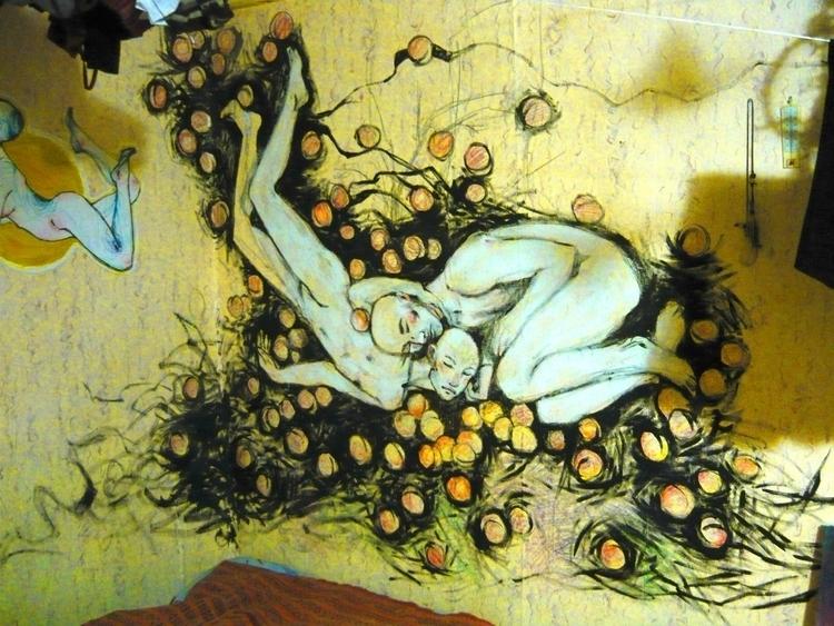 spontaneous painting room year  - evesolar | ello