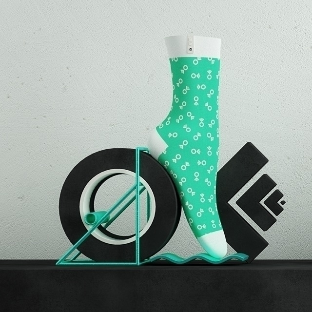 OFFF 2017 - Barcelona Sock 03/0 - zehnzehnsocks | ello