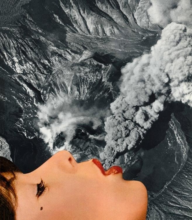 Le volcan - 23,5x27 cm Paper co - claire_martine_ | ello