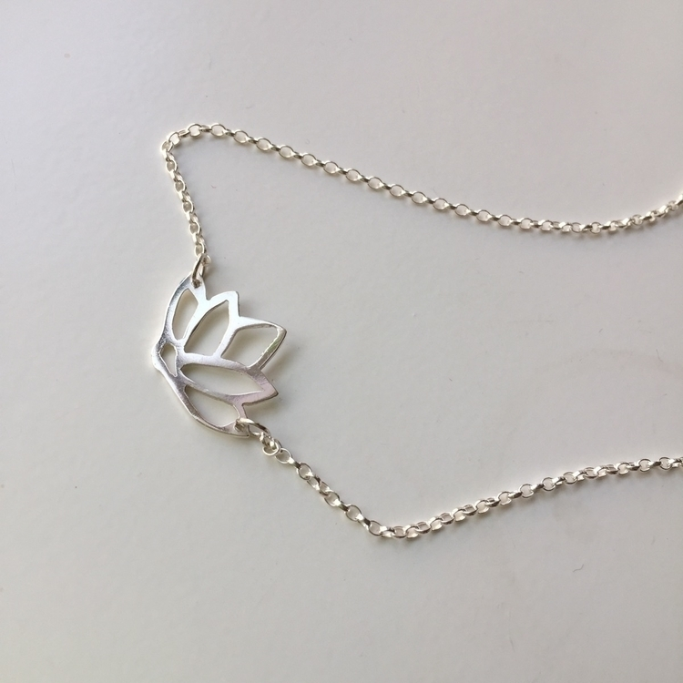 lotus necklace finished yesterd - stacyccarmichael | ello