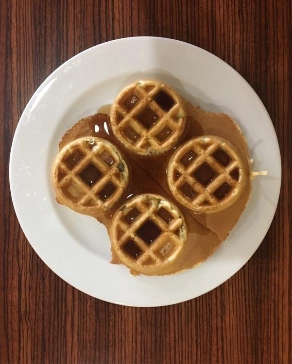 Good Morning.  - waffles… - rowiro   ello