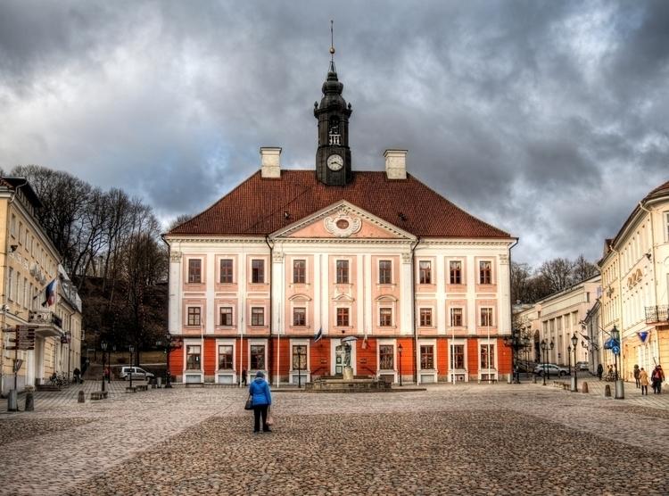 Town Hall, Tartu - magnificent  - neilhoward | ello