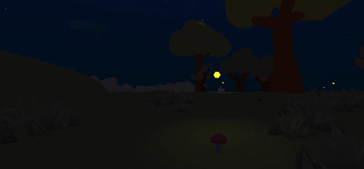 Fireflies give scene night spec - floatlands | ello