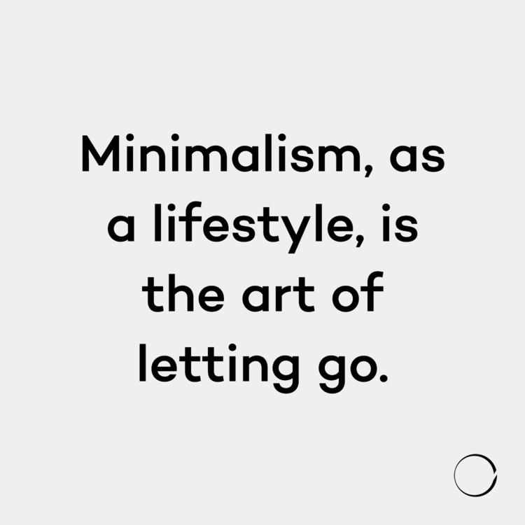 Minimalism, lifestyle, art lett - minimalismlife | ello