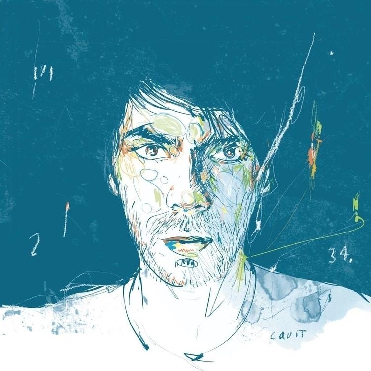portrait cquit - selfportrait - carlosquiterio | ello