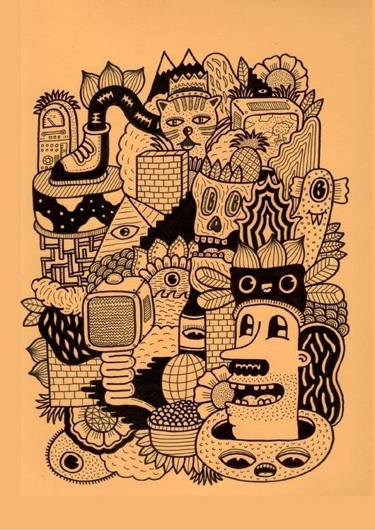 illustration, drawing, doodle - douglascavanna | ello