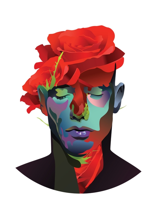 Abstract illustration.. tattoo - artrovert | ello