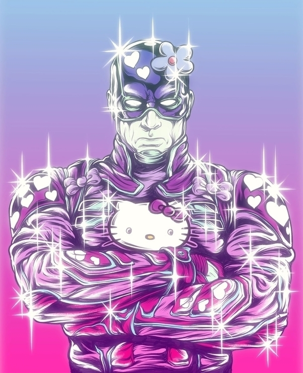 illustration, superhero, kawaii - jamesjirat | ello