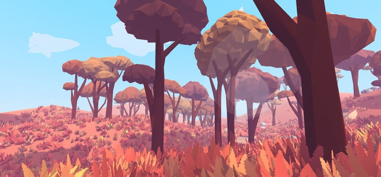 Working biome - called Scorched - floatlands | ello