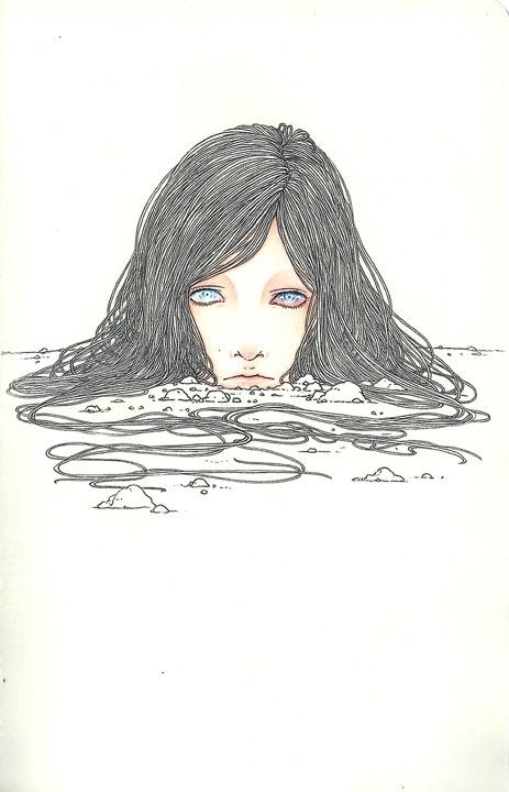 Buried - andisoto, moleskine, illustrator - andimacka | ello