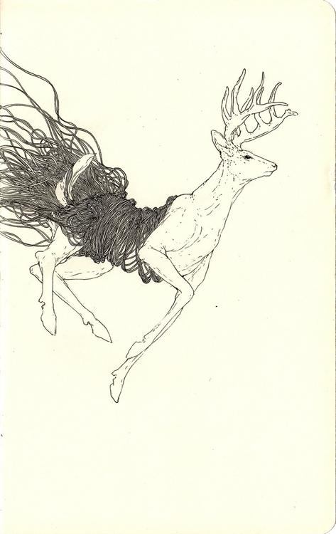 Sketch moleskine - andisoto - andimacka | ello