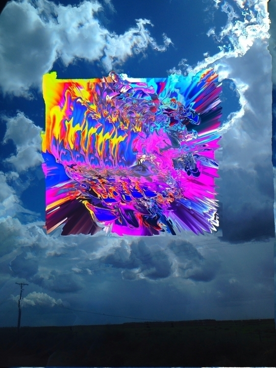 glitch, glitchart, vaporwave - abstratoreal | ello