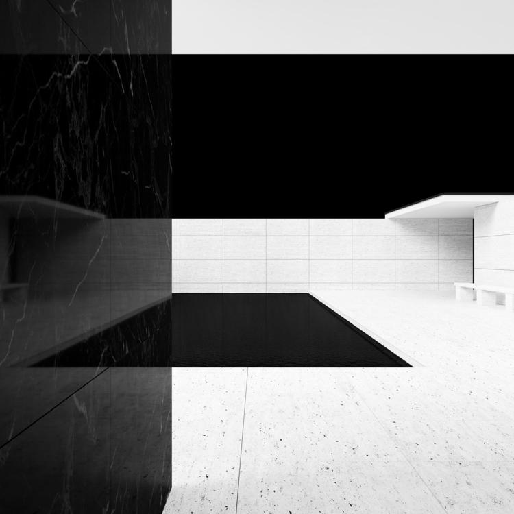 Design: Mies van der Rohe Black - minimalist | ello