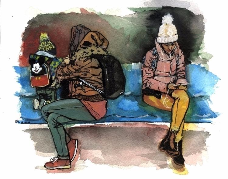 People Piata Romana metro - Buc - lau_rie_mrt | ello