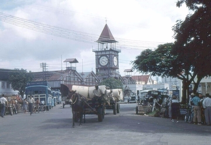 Stabroek Market Cart, 1960 Paul - guyfrog16 | ello