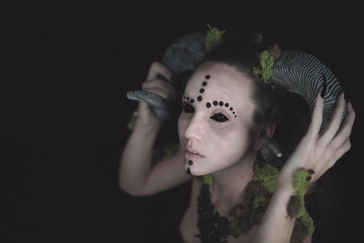 Photographer/Concept:Carrie Br - darkbeautymag | ello