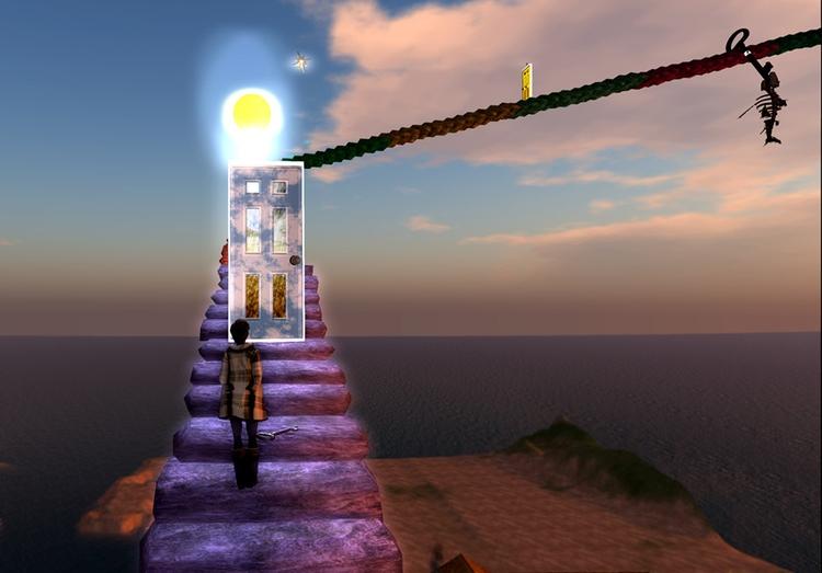 Life Time series 3D doors climb - nimabenoir | ello