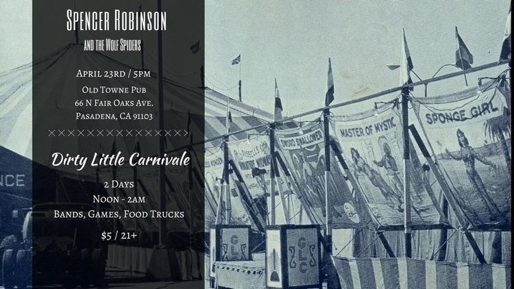 Sunday 4/23 Dirty Carnivale Pas - 13spencer | ello