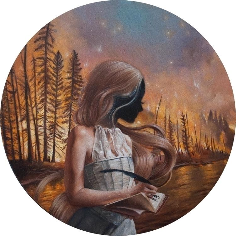 Impossible oil canvas - ania_tomicka | ello