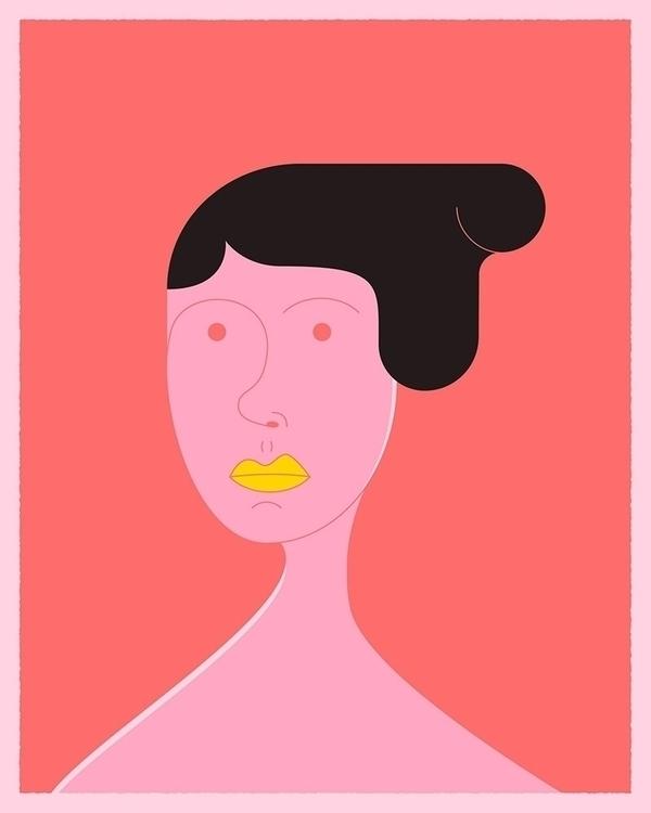 Woman - character, digital, illustration - wheelchairjimmy | ello