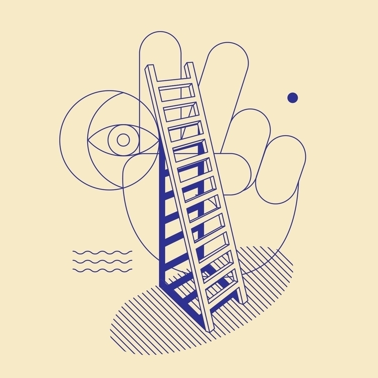 build wall, bring ladders - elloillustration - andrewhoffman | ello