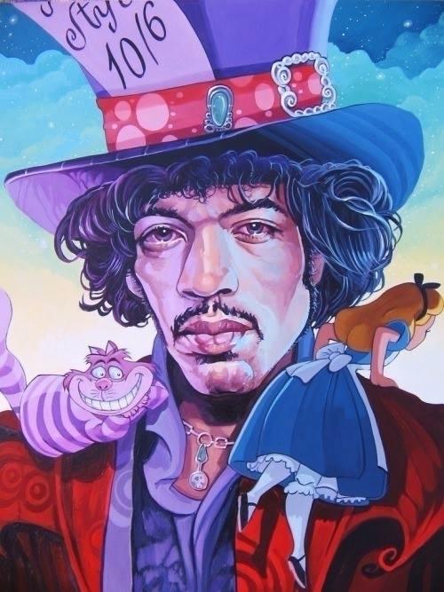 Hendrix Wonderland ~ Artist: Da - hkhaang | ello