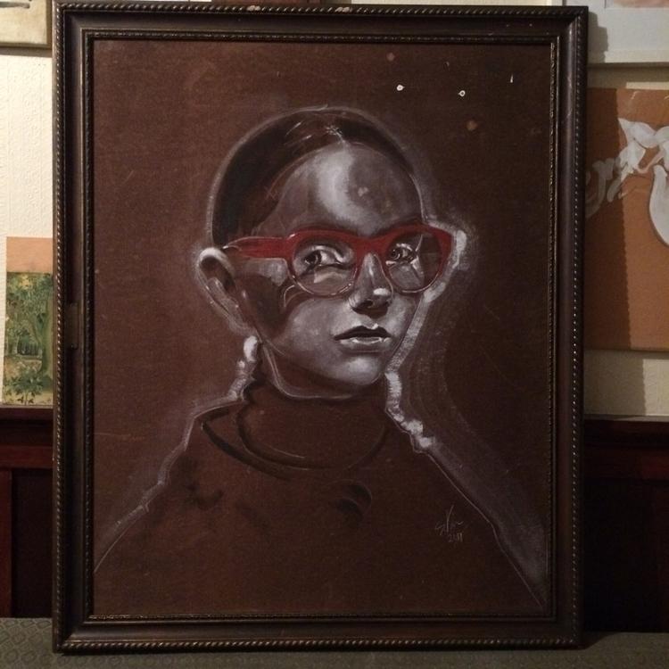92cm 111cm framed - simonvine | ello