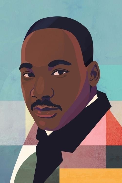 Martin Luther King Jr - petraerikssonstudio | ello