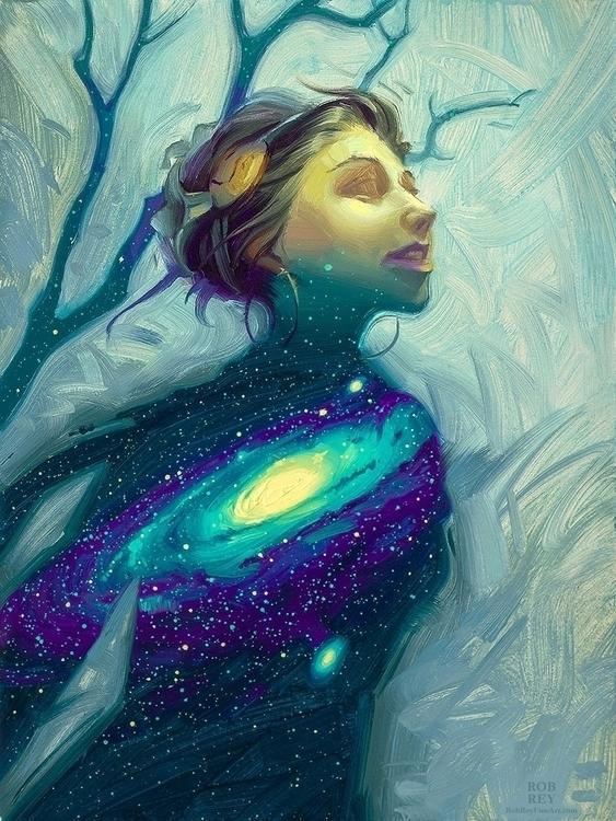 'Stardust Rob Rey. 6 8 Oil stud - geekynerfherder | ello