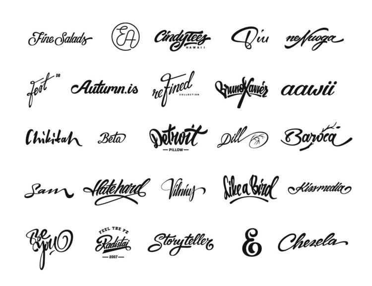 typography lettering based year - forsureletters | ello