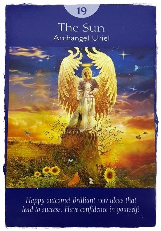 Angel Tarot ~ Sun - AngelTarot, Angels - speedykitty | ello
