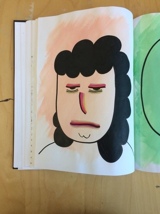 illustration, painting, ink, girls - mitsubishiufjfinancial   ello