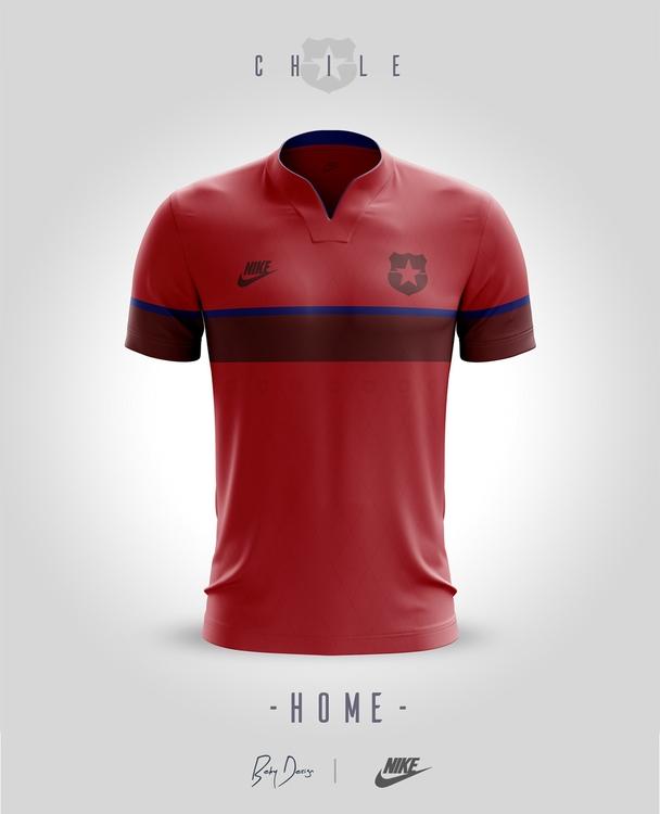 CHILE - Jerseys /Concept home - soccer - cosminbecheanu   ello