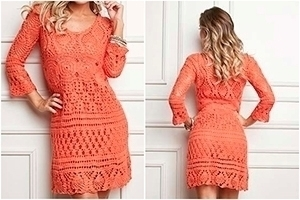 Beautiful crochet dress pattern - yarnofcrochet | ello
