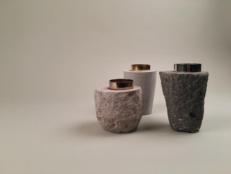 Set stone containers La Tlapale - byrobynvaldez | ello